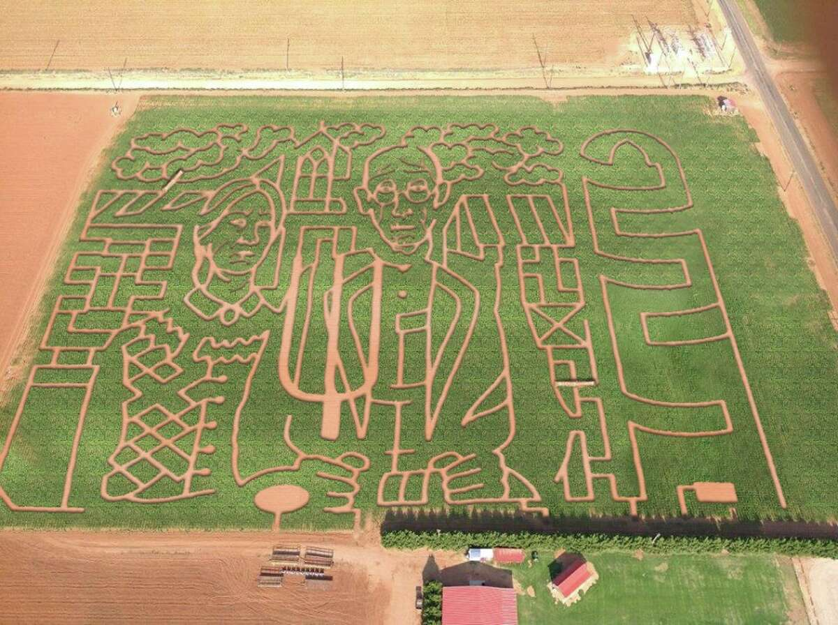 At'l Do Farms Lubbock, Texas This popular Panhandle farm includes a hayride, a cow train, a corn cannon and two corn mazes. For an extra fee, visitors can ride horses or pitch a campfire. The farm is open from Tuesday to Sunday, starting on Sept. 19 and ending on Nov. 14. General admission ranges from $8 to $10 for adults. For more information, visit atldofarms.com.