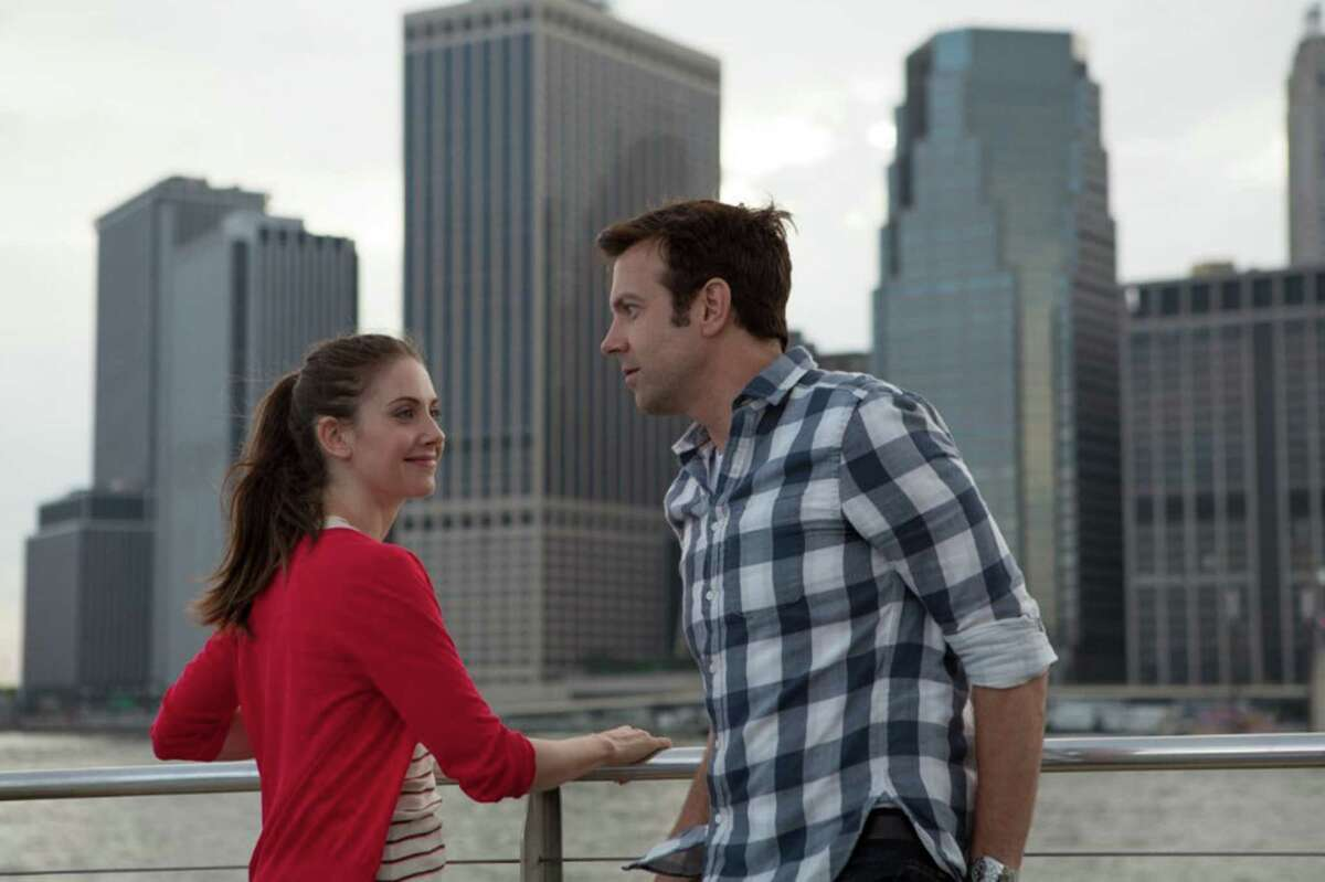Jason Sudeikis and Alison Brie in