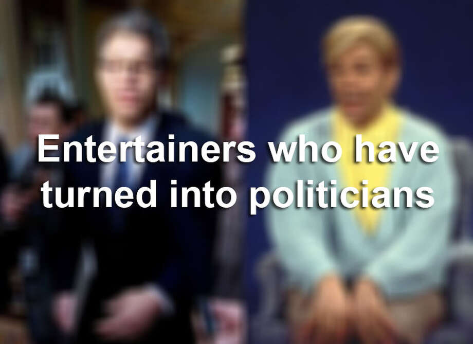 Here's a look at people who made the leap from showbiz to politics. Photo: File