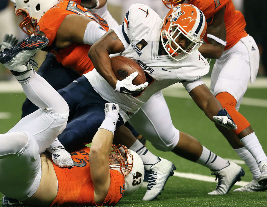 UTSA will attempt to win its first game of the season Saturday night in El Paso vs. the UTEP Miners. Photo: TOM REEL /