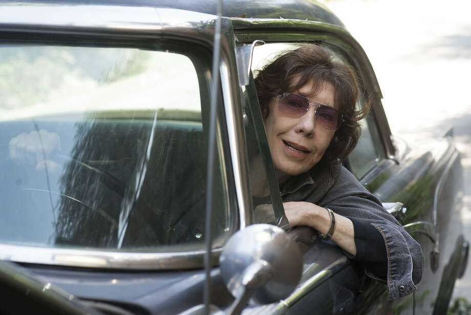 "In this image released by Sony Pictures Classics, Lily Tomlin appears in a scene from ""Grandma."" (Glen Wilson/Sony Pictures Classics via AP) Photo: Glen Wilson, Associated Press"