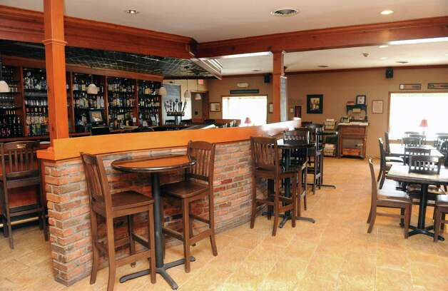 Bar area of Cella Bistro at 2015 Rosa Road on Sept. 25, 2015 in Schenectady, N.Y.  (Michael P. Farrell/Times Union) Photo: Michael P. Farrell / 10033501A