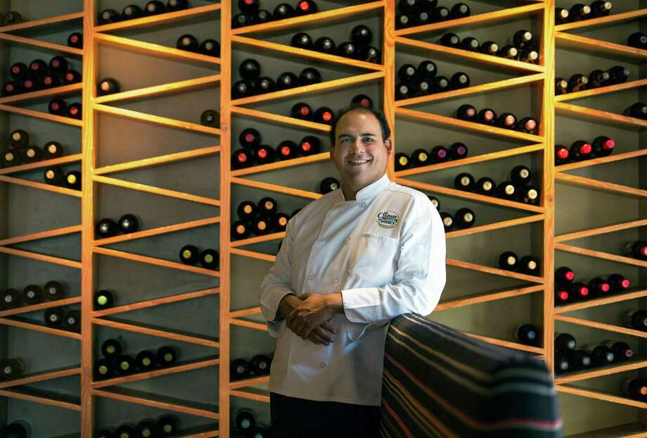 Zach Garza is the new executive chef of Nao Latin Gastro Bar, the signature restaurant of the Culinary Institute of America - San Antonio. Photo: William Luther /San Antonio Express-News / © 2015 San Antonio Express-News