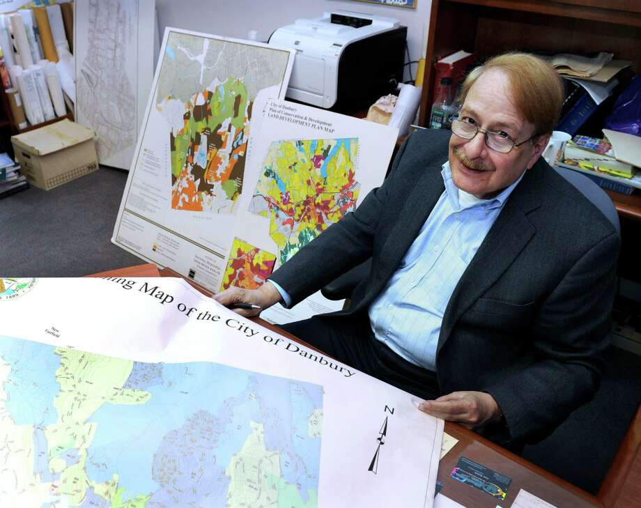 Dennis Elpern, Danbury's long-time city planner, is retiring. Photo Thursday, Oct. 1, 2015. Photo: Carol Kaliff / Hearst Connecticut Media / The News-Times