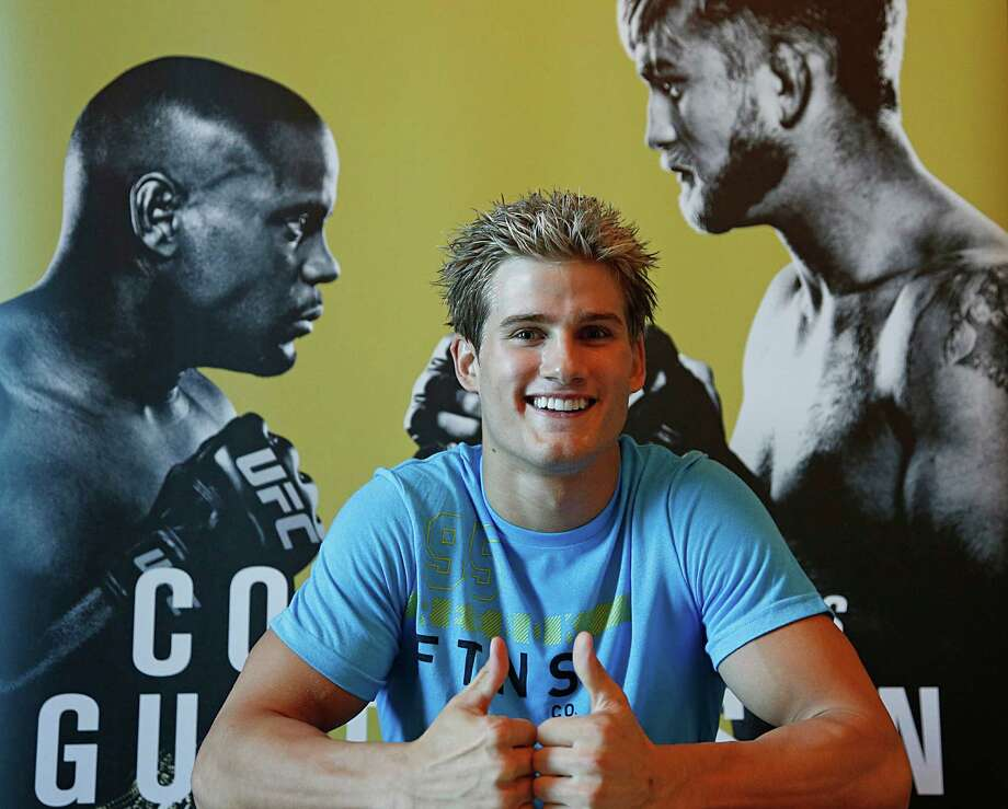 At 19 years old, Katy's Sage Northcutt will be the third-youngest UFC fighter ever. Photo: James Nielsen, Staff / © 2015  Houston Chronicle