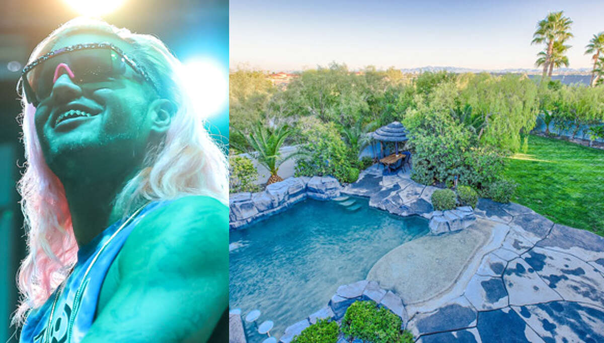 Riff Raff's $1.4 million 'Codeine Castle' in Las Vegas Houston-bred rapper Riff Raff (real name Horst Simco), sometimes known as the Neon Python or the Versace Python depending on the mood, has purchased a home in Las Vegas that is so purple inside that Prince himself would drop to his little knees in jealousy. Check out the house ... (Getty Images and Zar Zanganeh / Luxe Estates & Lifestyles)