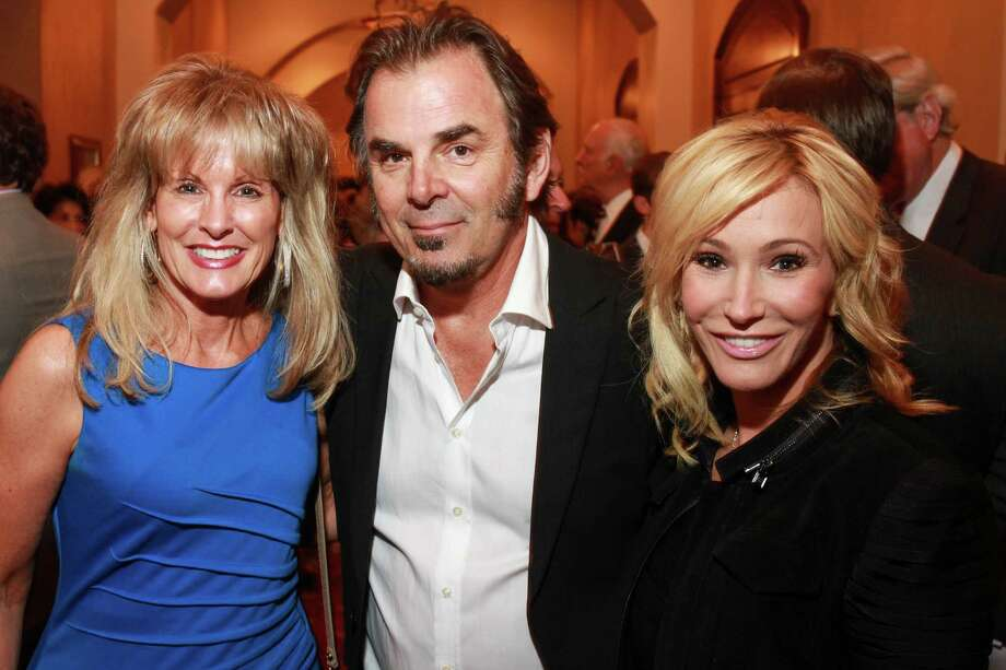 Laura Heatherly, from left, with Jonathan and Paula Cain Photo: Gary Fountain, Gary Fountain/For The Chronicle / Copyright 2015 Gary Fountain