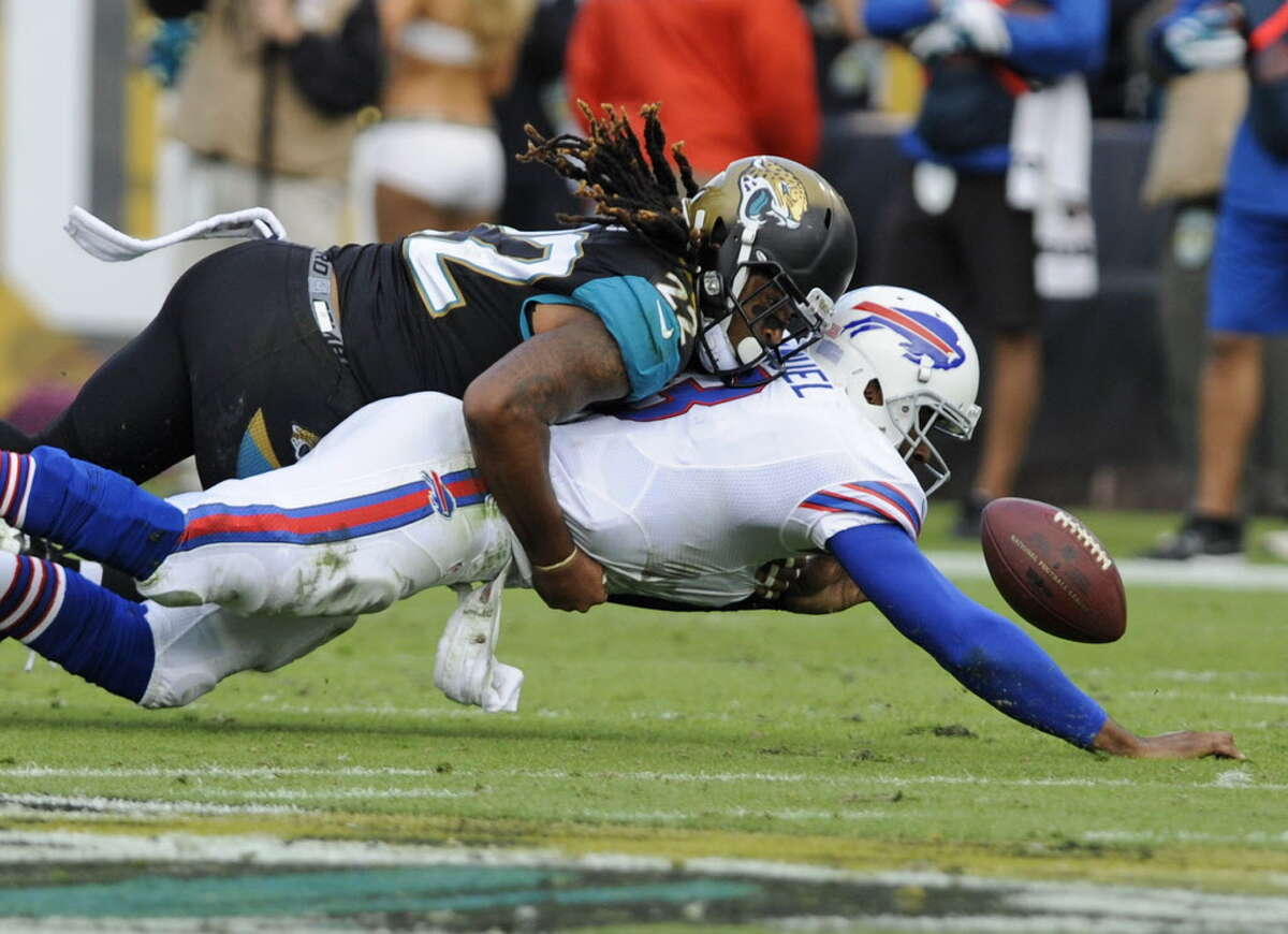 When the Bills and Jaguars meet Oct. 25 in London, viewers outside the Buffalo and Jacksonville markets will have to go to the internet to watch. (AP Photo/Stephen Morton) ORG XMIT: JVS113 ORG XMIT: MER2013121515430407