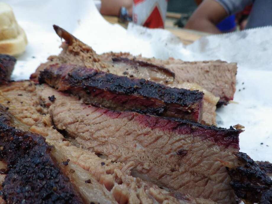 Brisket at John Mueller's Meat Co.Credit:texasbbqtreasurehunt.com