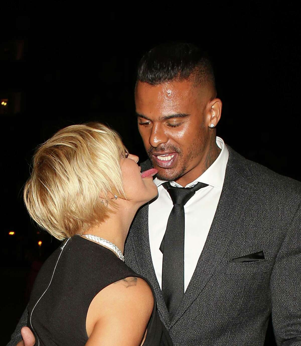 sheeshhhh. ... Kerry Katona and George Kay at the Reality TV awards on September 30, 2015 in London, England. (Photo by Mark Robert Milan/GC Images)After cruising this gallery check out the galleries for May - June - July - August.