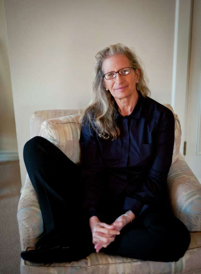 "Photographer Annie Leibovitz, seen on Tuesday, Nov. 22, 2011 in San Francisco, Calif., has just released a new book, ""Pilgrimage."" Photo: Russell Yip / ONLINE_YES"
