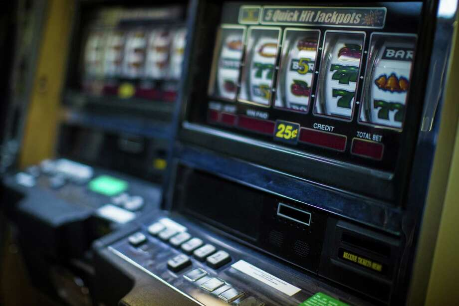 "Different types of gaming machines, including  ""8 liner"" machines, have been seized in past raids. Most are similar to Las Vegas-style clot machines. Photo: Marie D. De Jesus, Staff / © 2015 Houston Chronicle"