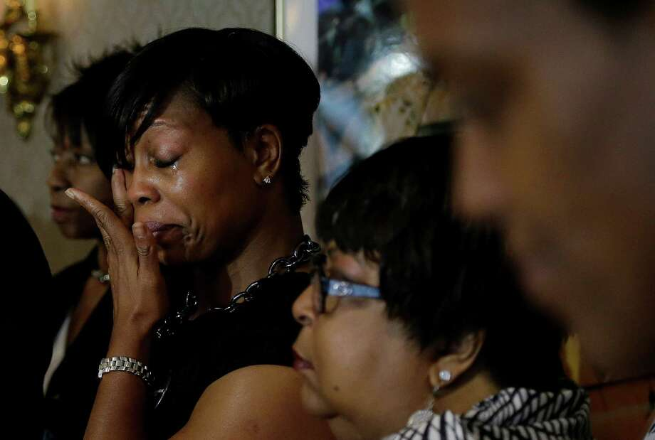 Lisa Johnson was part of a group of mostly black women who were ejected from a Northern California wine country train this summer. The women claim racial discrimination was a clear factor and called the experience humiliating. Photo: Jeff Chiu, STF / AP