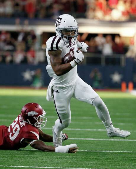 Texas A&M freshman wide receiver Christian Kirk is off to a strong start to his college career, leading the SEC with 442 receiving yards four games into the season. Photo: Tony Gutierrez, STF / AP
