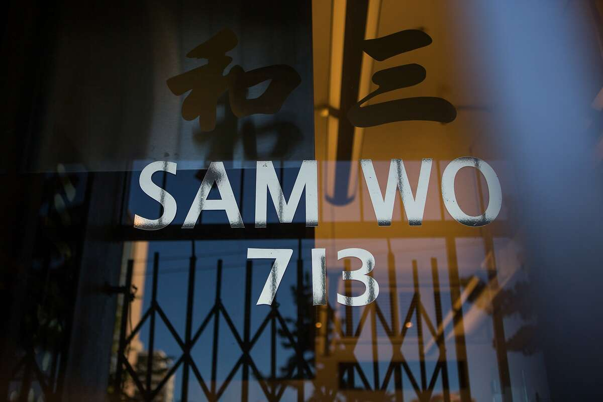 Sam Wo's new location is at 713-715 Clay Street.