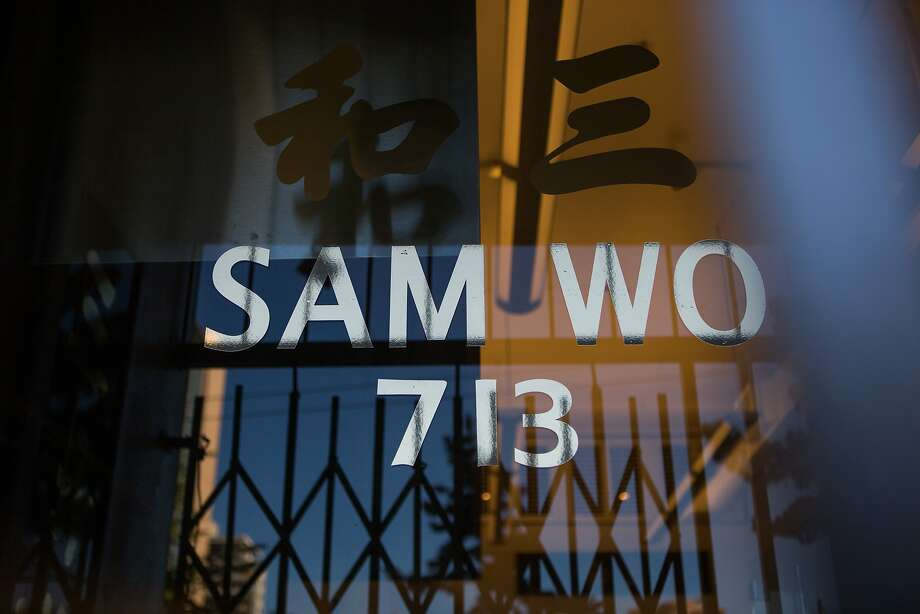 Sam Wo's new location is at 713-715 Clay Street. Photo: Nathaniel Y. Downes, The Chronicle