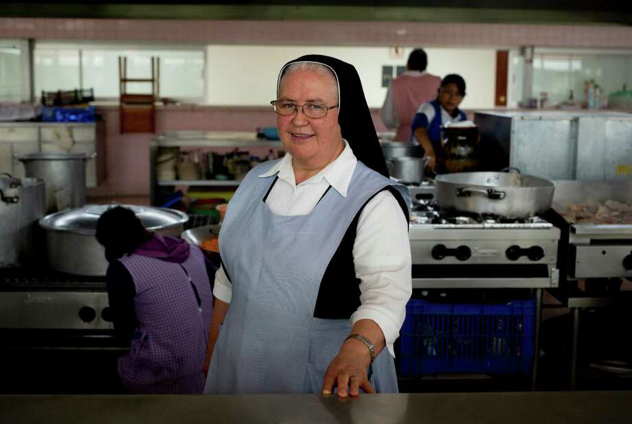 "Florinda Ruiz Carapia, better known as ""Hermana Flor,"" may be the hottest nun south of the border - or at least her chile is - as she competes on Mexico's version of ""Master Chef."" Photo: Eduardo Verdugo, STF / AP"
