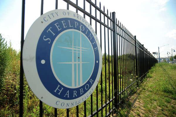 The Steelpointe Harbor development in Bridgeport, Conn. in August 2015.