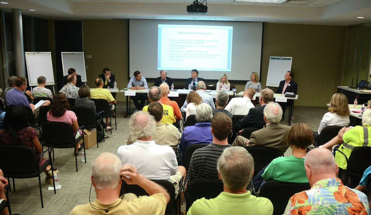 Almost 100 residents attended the Bike The Woodlands Coalition's forum for candidates for The Woodlands Township Board of Directors. at the Huntsman Corporation meeting room. Photograph by David Hopper Str during the Stratford at Magnolia volleyball game. Photograph by David Hopper