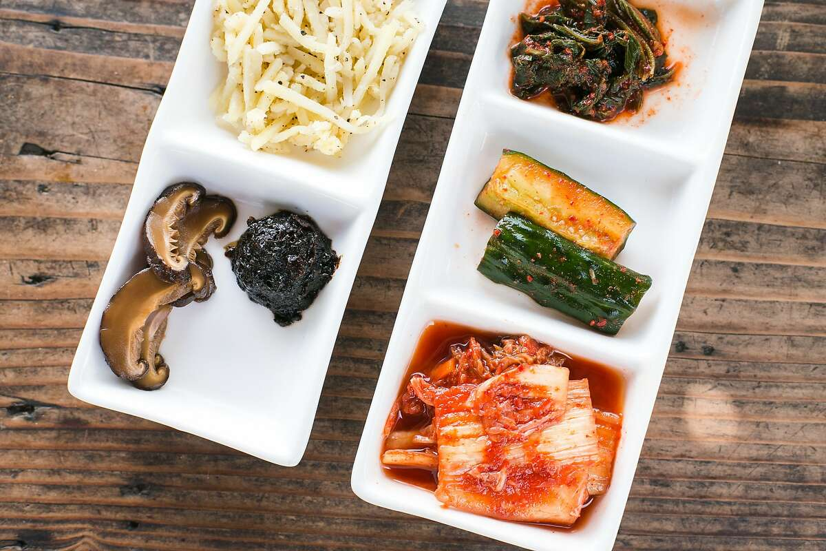 Banchan (pickles and kimchi) and Bap (rice) are served with some dishes at FuseBOX or can be ordered seperately.