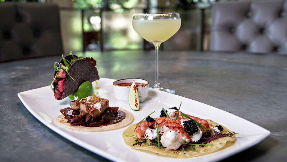 Café on the Green at the Four Seasons Resort and Club in Dallas will offer this $100 dish, including three tacos and a margarita, throughout the month of October. Twenty percent of funds will be donated to the Irving Healthcare Foundation. Photo: Photography By Koi Images And Events - Www.KRISTINAFANELLI.com #KoiImagesAndEvents, Courtesy, Four Seasons Resort And Club Dallas / Photography by Koi Images And Events - www.KRISTINAFANELLI.com #KoiImagesAndEvents
