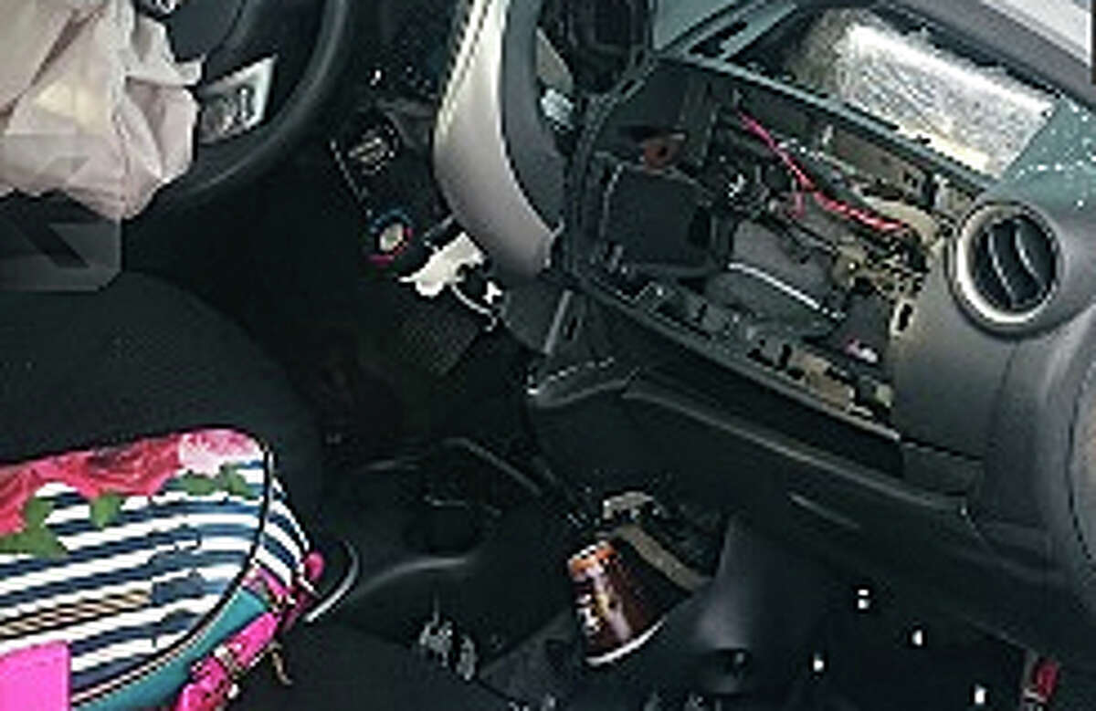 Two suspected drug smugglers died of injuries suffered in a car accident Sept. 28, 2015, in Tamaulipas, Mexico. Authorities who responded to the crash on Highway 101 found 25 kilos of cocaine stuffed into the car's airbag compartment.  Click through these photos to see more about Mexican gangs allegedly involved in drug cartels.