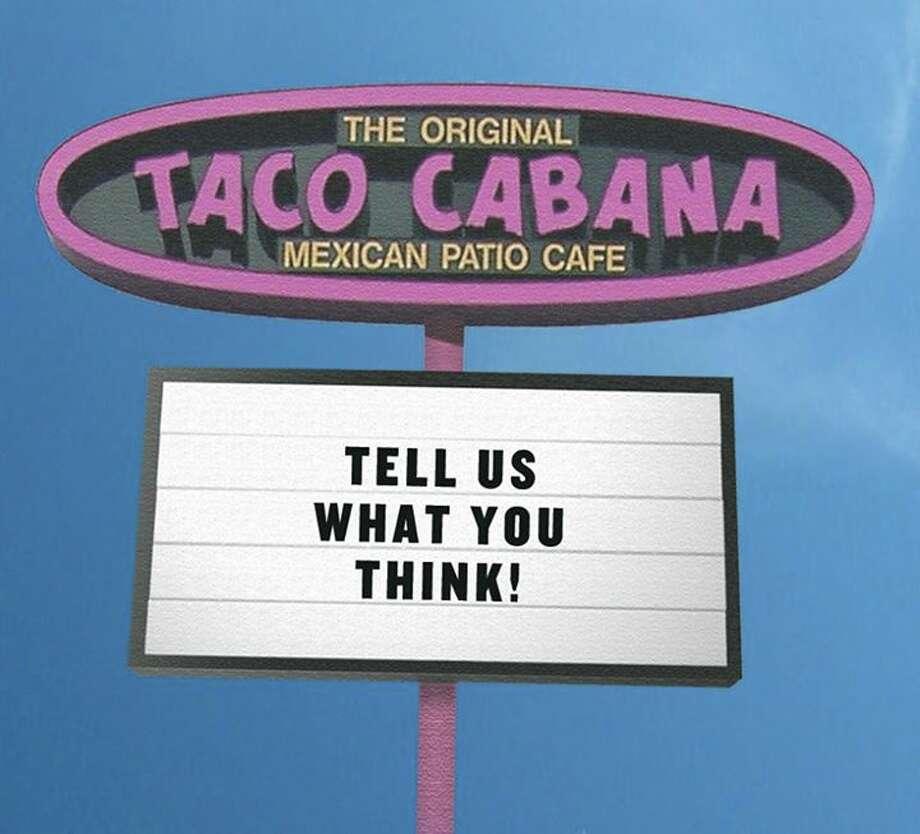 Taco Cabana's Facebook post