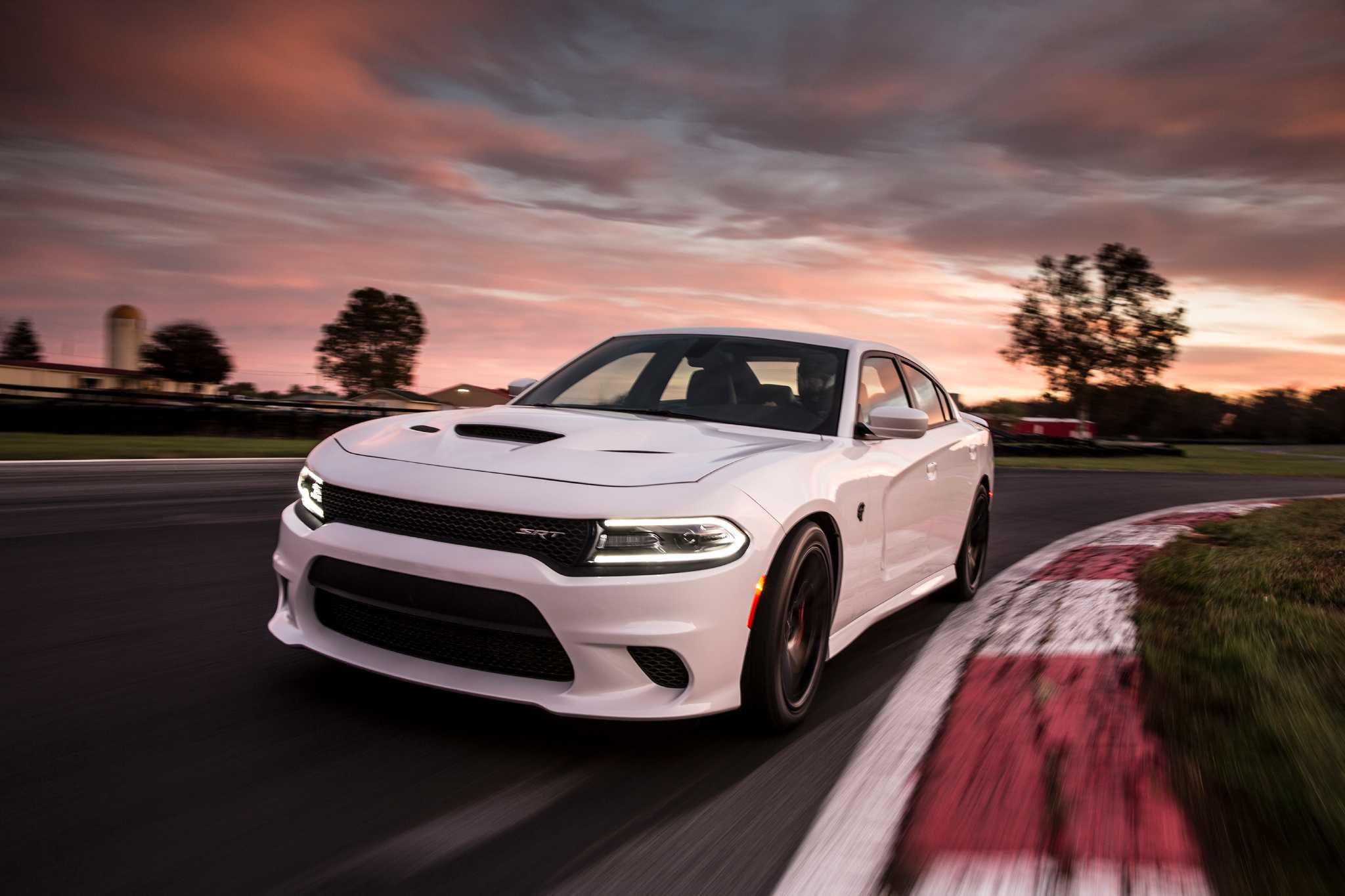 Dodge Charger Hellcat triggers shock and awe - just standing still