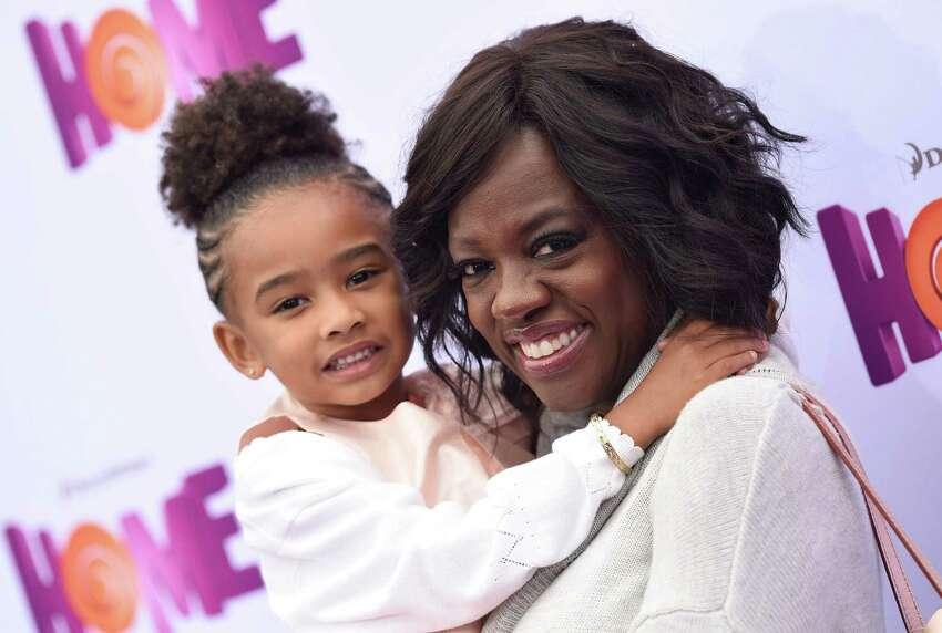 Actress Viola Davis adopted her daughter Genesis Tennon in 2011.