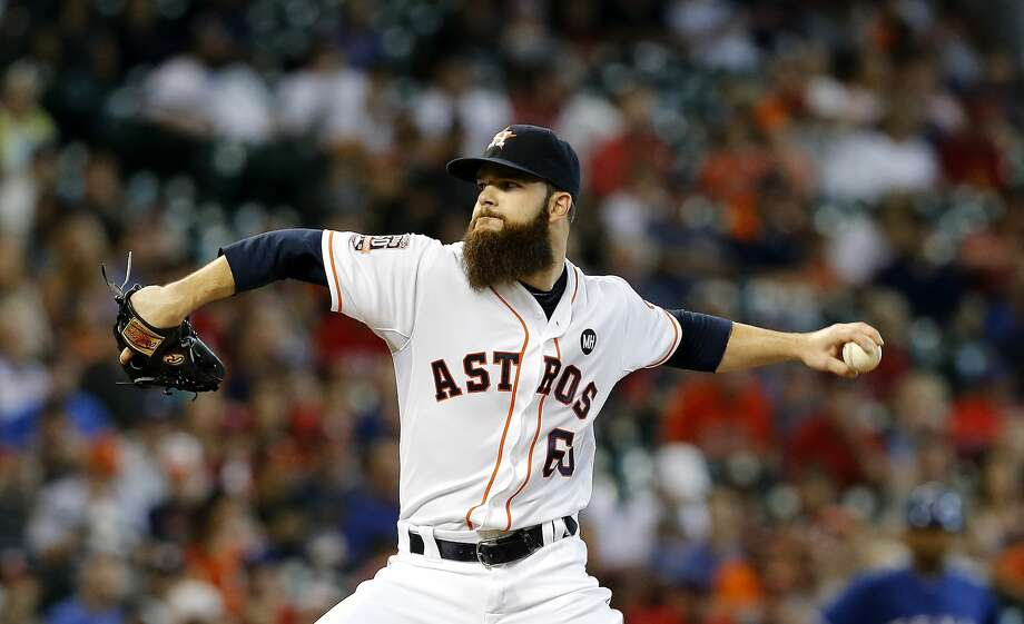 Dallas Keuchel would get an extra day of rest if rain postpones the AL wild-card game. Photo: Chris Covatta, Getty Images
