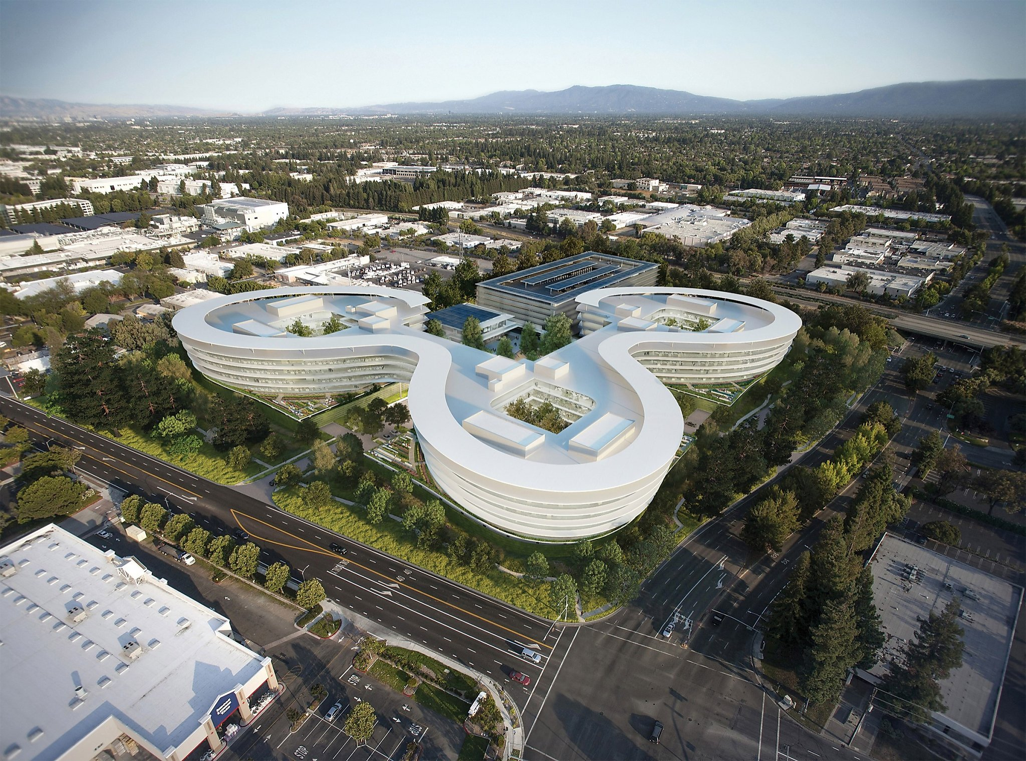 new apple office cupertino. Cupertino Apple Office. Expands In Sunnyvale, Potentially Adding Futuristic Space - Sfgate New Office E