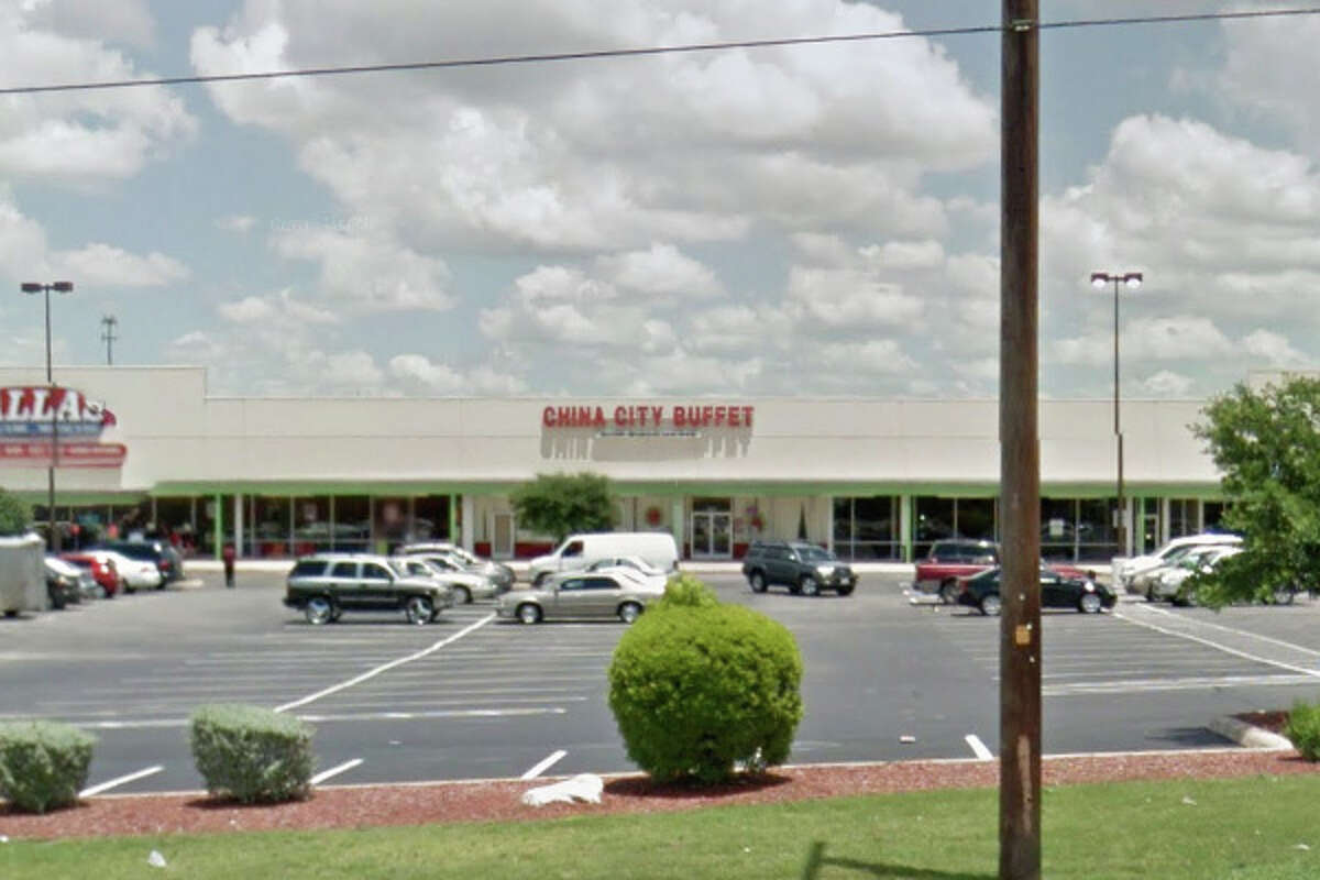 China City Buffet: 3524 S. New Braunfels, San Antonio, Texas 78223Date: 08/19/2016 Score: 72Highlights: Food not protected from cross contamination (raw, uncovered chicken stored above uncovered vegetables in reach-in cooler),