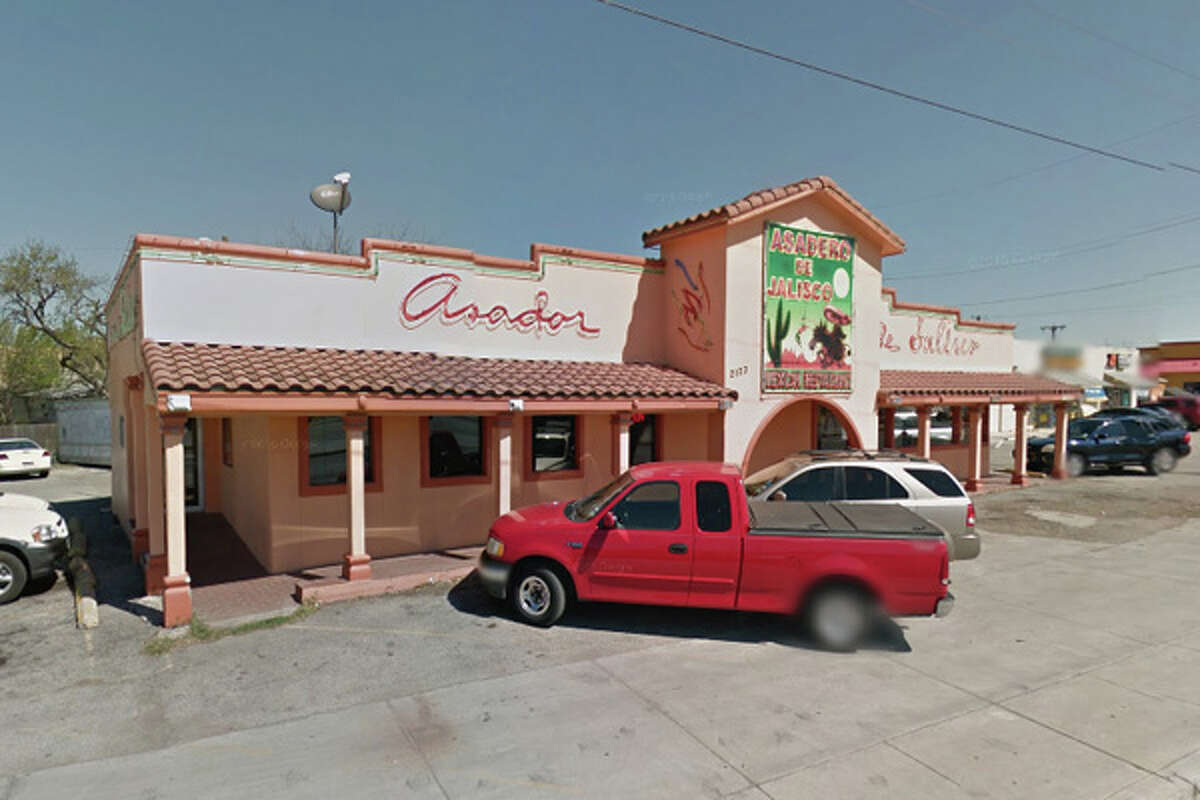 Asadero de Jalisco: 2123 Culebra Road, San Antonio, Texas 78228 Date: 07/09/2018 Score: 75 Highlights: Potatoes not held at proper hot hold temperature, ready-to-eat foods not properly date marked, dead or trapped birds, insects, rodents and other pests shall be removed from control devices and the premises, pots of hot foods stored on the floor.