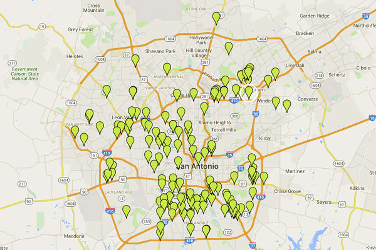 These are the San Antonio restaurants cited with 14 or more demerits in September. Click ahead to see the 63 spots cited with the highest number of violations over the final week of the month, one of the busiest weeks for inspections on record.