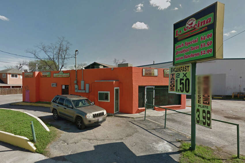 Gibbys La Cocina: 2602 Nogalitos St., San Antonio, Texas 78225Date: 05/27/2016 Score: 64Highlights: Prep station, reach-in cooler and walk-in cooler not at correct temperature, reach-in cooler contained foods spoiled with odor, yet they were still being served, food not protected from cross contamination, employees did not wash hands or change gloves when switching tasks, food handlers contacted ready-to-eat foods with bare hands