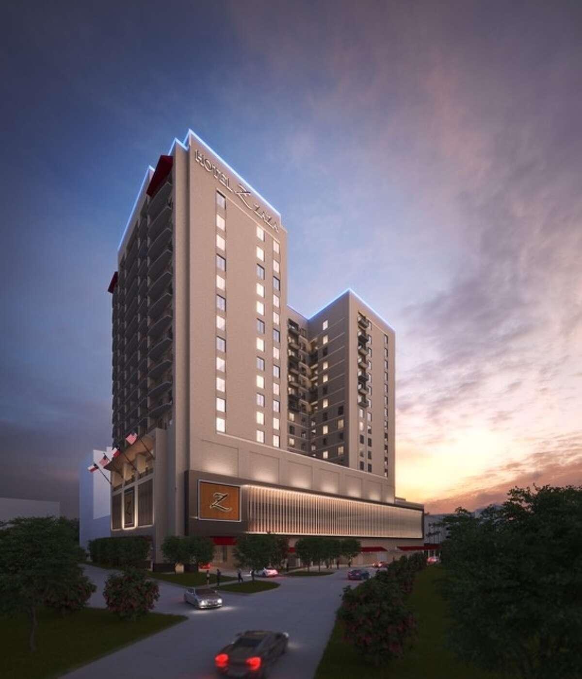 Rendering of Hotel Zaza planned to open in summer 2017 in Memorial City.