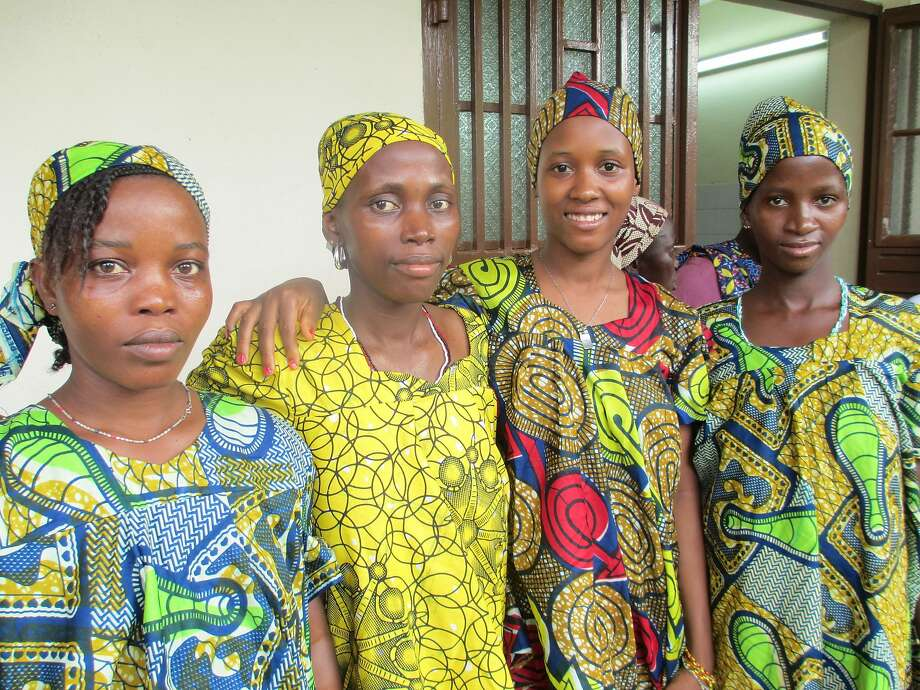 "Women gather at the Aberdeen Women's Center in Sierra Leone in a scene from ""Shout Gladi Gladi."" Photo: International Film Circuit"