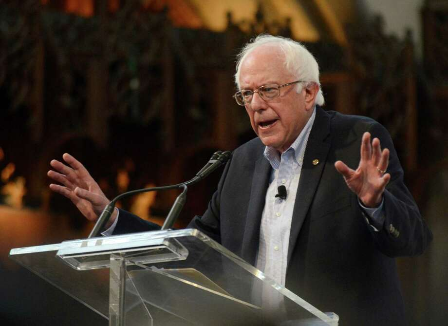 Democratic presidential candidate Sen. Bernie Sanders, I-Vt., is raising big money and riding high in polls because he appeals to Americans who have lost faith in politics as usual. Photo: Paul Beaty /Associated Press / FR36811