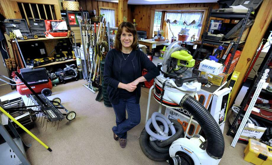 Liz and Brad Van Gemert, of Monroe, recently opened Dad's Consignment at 317 S. Main St. in Newtown. Photo: Carol Kaliff / Hearst Connecticut Media / The News-Times