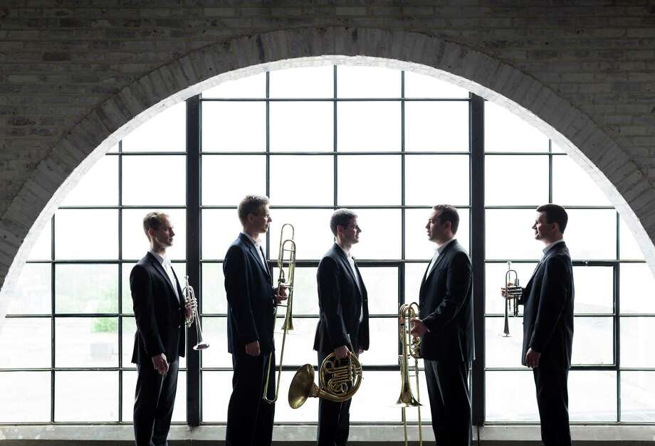 The River Oaks Chamber Orchestra Brass Quintet will present its own concert series at the new Midtown Arts and Theater Center Houston, starting Friday. Photo: Courtesy River Oaks