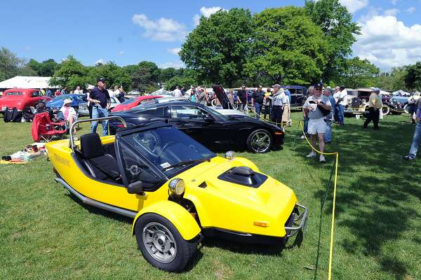 Greenwich Concours d'Elegance at Roger Sherman Baldwin Park in Greenwich, Saturday, May 31, 2014.