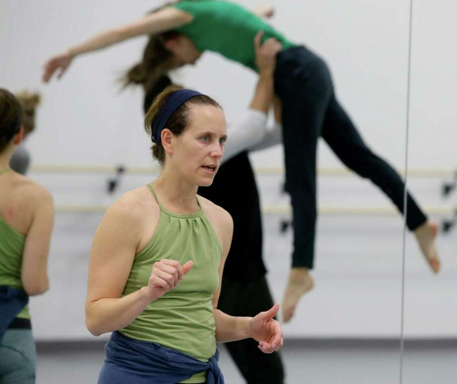 Annie Arnoult opened a dance studio to help fund her new dance troupe. Photo: Melissa Phillip, Staff / © 2015 Houston Chronicle