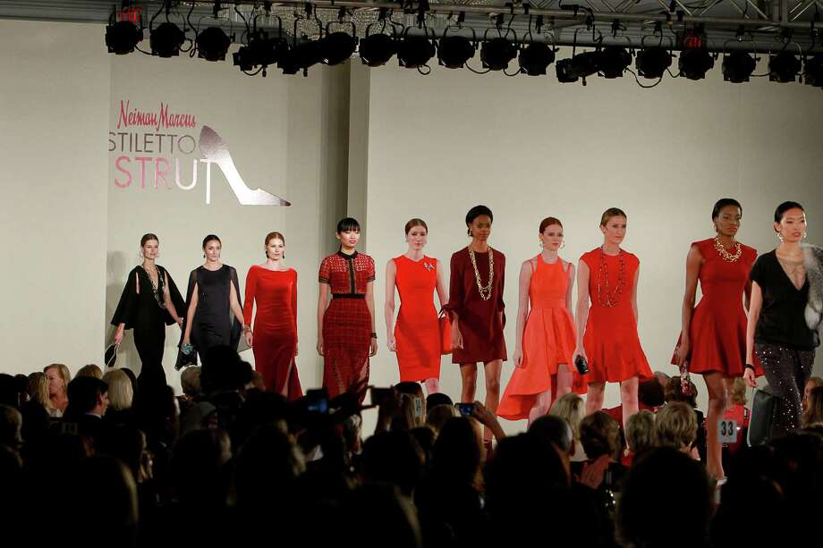 The fashion show at the Neiman Marcus Stiletto Strut Luncheon  Photo: Gary Fountain, Freelance / Copyright 2015 by Gary Fountain