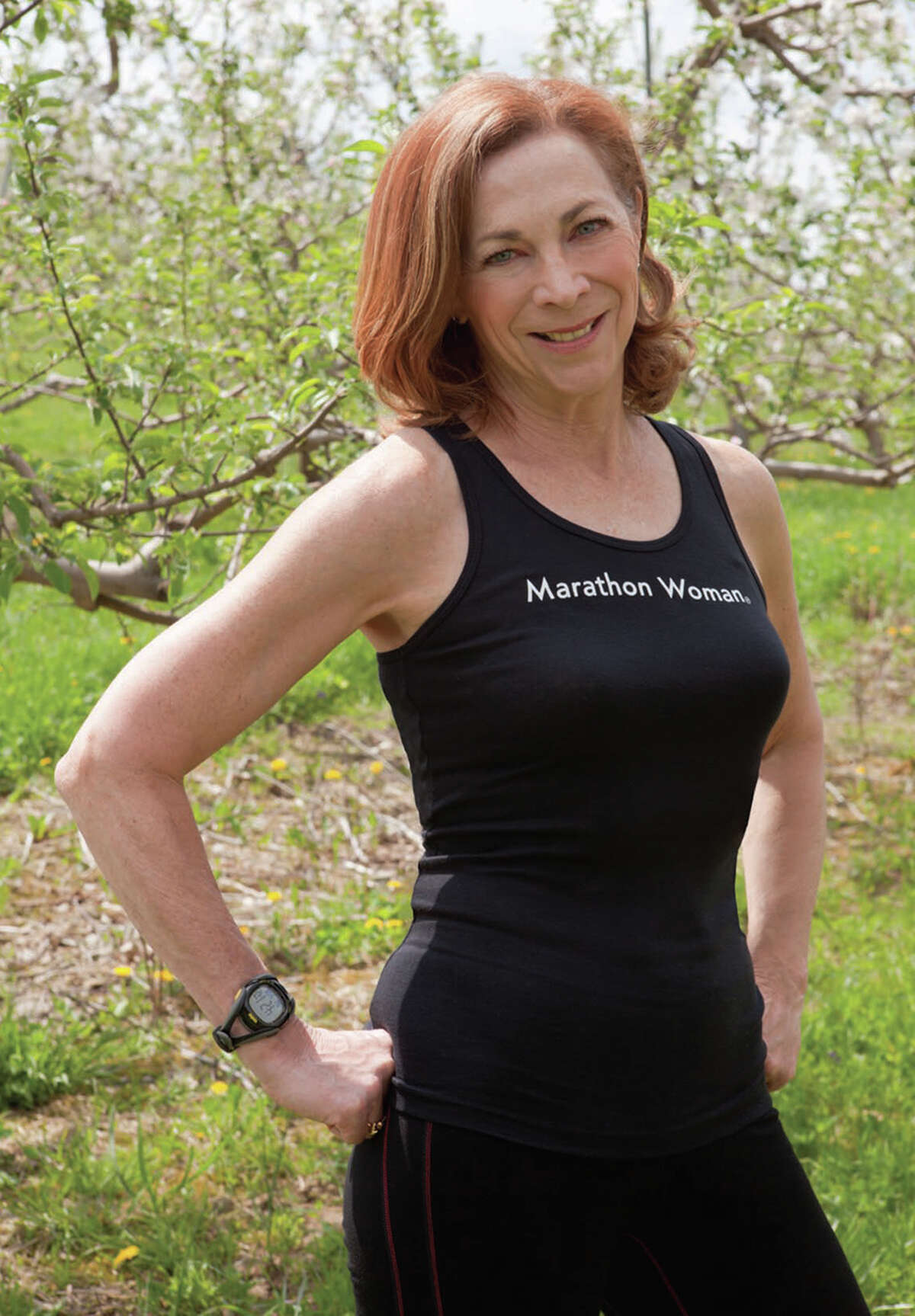 Kathrine Switzer, 64, has been a leader in women's opportunities since she was the first woman to officially run the Boston Marathon in 1967. She won the 1974 New York City Marathon, is an Emmy award winning TV commentator and the author of several books.