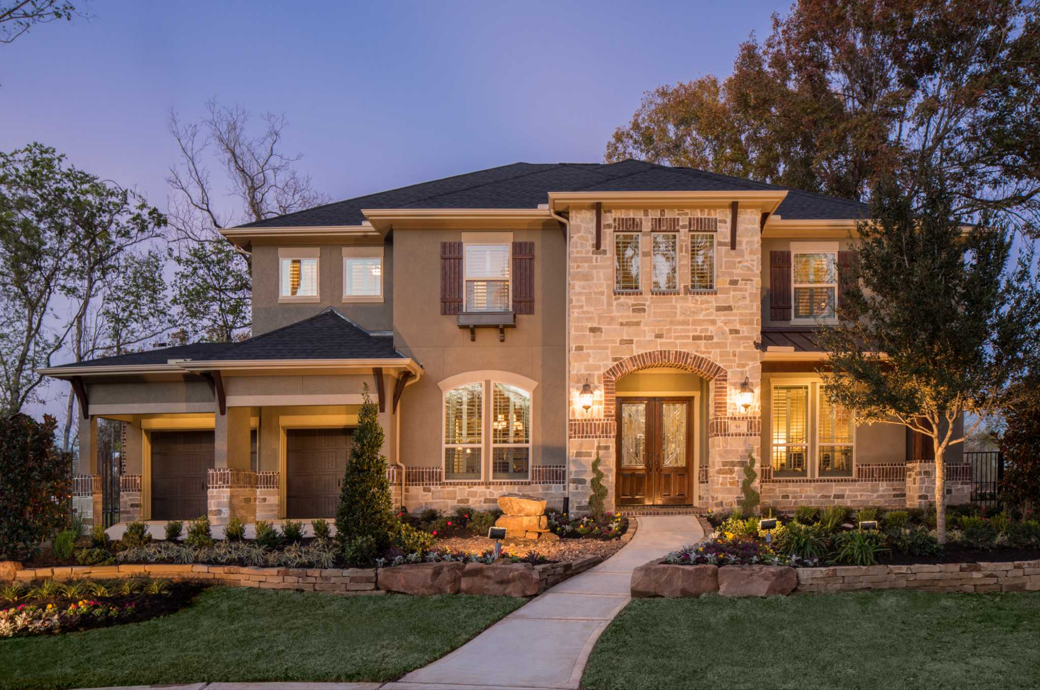 Houston model homes for sale