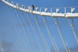 Bay Bridge designer fears leaks are damaging main cable - Photo