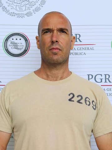 Alleged drug cartel boss Edgar 'La Barbie' Valdez Villarreal
