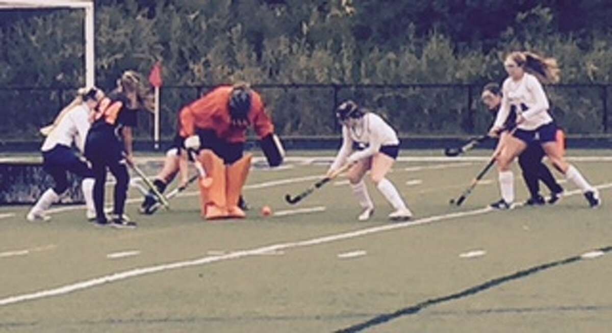Action from the Watertown at Immaculate field hockey game on Oct. 2, 2015. Immaculate won, 3-1.