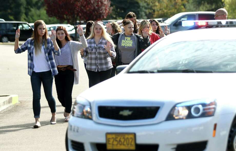 Oregon is one of seven states with provisions allowing the carrying of concealed weapons on public college and university campuses.  Photo: Michael Sullivan, MBR / The News-Review