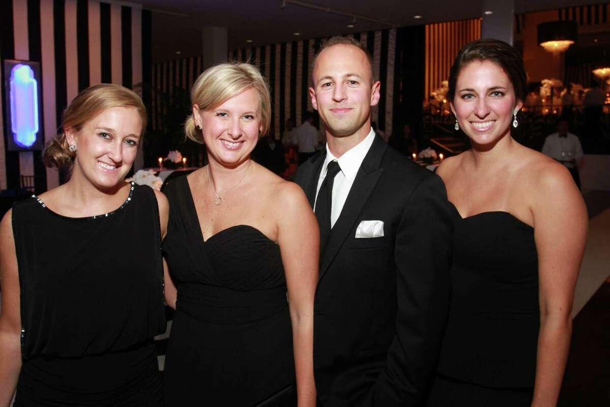 Tanya Green, left, Allison Zayler, Ross Boyce and Lauren Walstad